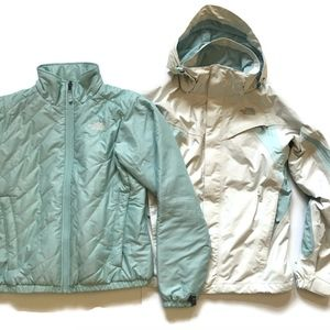 The North Face Triclimate Jacket 3 in 1 Turquoise
